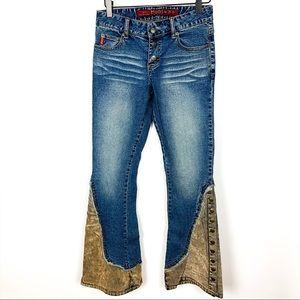 Mudd | Bell Bottom Snap Fly Jeans